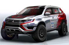 Mitsubishi Outlander PHEV Rally