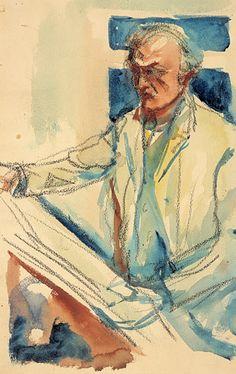 Edvard Munch slapp få mennesker innpå livet. Etter at han flyttet til Ekely i 1916 var selv venner og slektninger sjeldne gjester i hans hus. Likevel har ettertiden fått muligheten til å bli bedre kjent med ham enn svært mange andre navn i kunsthistorien. I hans testamentariske gave til Oslo finner vi - foruten malerier og grafikk, brev og notater - ca 4500 tegninger. Tegningene utfyller på en vesentlig måte det bildet vi har av kunstneren Munch. Dels finner vi her selvstendige kunstverk…