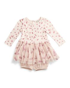 Primrose Stars & Stripes Combo Dress, Pink, Size 6-24 Months by Stella McCartney at Neiman Marcus.