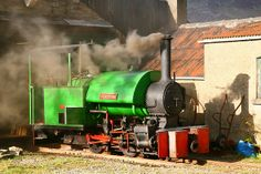 Narrow gauge Bagnall 0-4-0ST at Threlkeld Mining Museum, near Keswick in the Lake District,
