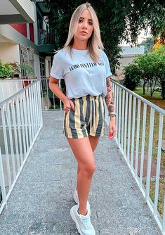 20 different looks that will inspire your week - Street Style Spring Fashion Outfits, Fall Outfits, Summer Outfits, Short Outfits, Trendy Outfits, Cute Outfits, Style Casual, Casual Looks, Outfits Quotes