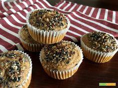 Muffin (Vegan) semplici e veloci Senza Zuccheri aggiunti!!! - Ricetta