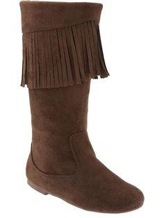 Old Navy | Girls Fringe Boots