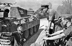 "Waffen SS "" Wiking "" Panther`s - Poland summer 1944"