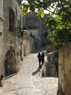 Les Baux de Provence - France. I remember this walk...loved this little town.