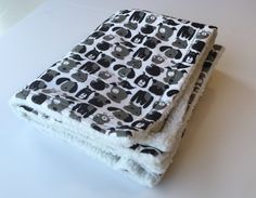 Flannel Dog Blanket, Pet Blanket, Black and White Dogs, Flannel Baby Blanket, Dog Couch Throw, Puppy Baby Blankets, Puppy Blanket, Dog Gifts by ComfyPetPads on Etsy