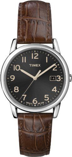Timex Men's T2N948 Elevated Classics Dress Black Dial Brown Leather Strap Watch Timex,http://www.amazon.com/dp/B0083XFVJG/ref=cm_sw_r_pi_dp_7MrMrb840A2947A4