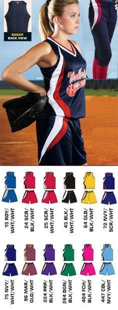 Softball Uniforms, Softball Jerseys, Sports Uniforms, Team Uniforms, Baseball Pants, Kids Sports, Sports Women, Softball Pictures, Team Wear