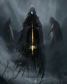 Postmortem Purgatory. Artist: Ramses Meléndez #Death #Demon #Devil #Fantasy #Art #DigitalArt
