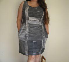 shift dress by yahaira, via Flickr