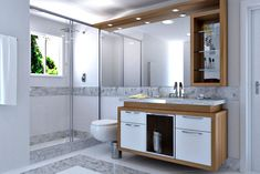 Amazing bathroom storage ideas, towel storage boxes and shelves, bathroom sink cabinet design and other smart storage furniture design 2019 Basement Bathroom Remodeling, Add A Bathroom, Bathroom Design, Washbasin Design, Bathroom Storage, Basement Bathroom Design, Bathroom Plumbing, Bathroom Towel Storage, Bathroom Furniture Modern