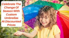 #Spring season has sprung! So, why not celebrate the spring colors with our #customumbrellas that are offered at #discounted prices now. Hurry! Stocks are flying off our shelves literally! #USumbrellas #blog