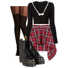 A fashion look from January 2015 featuring Proenza Schouler sweaters, Dr. Martens boots and Adina Reyter necklaces. Browse and shop related looks.