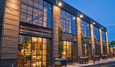 Exterior of Terrain at Westport, designed with NewStudio Architecture Office Building Architecture, Retail Architecture, Brick Architecture, Building Exterior, Building Facade, Commercial Architecture, Building Design, Architecture Collage, Facade Design