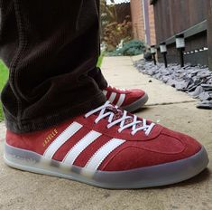promo code 41278 667c4 Adidas Gazelle Indoor on feet on the street