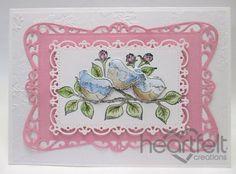 Heartfelt Creations | Bird Leafy Branch
