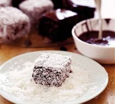 Delicious! But such a mission to make - Isaac's chocolate coconut squares
