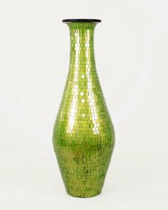 Tall Floor Vase - Flower Vase - Ceramic Vase With Glass Mosaic - 100cm (green) Leewadee,http://www.amazon.co.uk/dp/B00FA5FEEM/ref=cm_sw_r_pi_dp_HW8Btb0EHBBVEF69