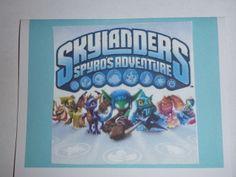 skylanders party description - games, invites, food, etc.