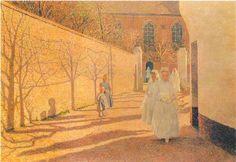 First Communion - Emile Claus