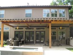 Backyard Covered Patio Ideas add on covered patio ideas pergola patio features Backyard Covered Patio