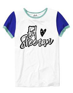 077787480c Camiseta Ed Sheeran - Entrega Rápida e Segura - Frete fixo para todo o  Brasil Concert