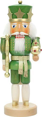 The Holiday Aisle Christian Ulbricht Green King Nutcracker Christmas Moose, Green Christmas, Christmas Colors, All Things Christmas, Christmas Holidays, Christmas Crafts, Christmas Ornaments, Christmas Soldiers, Irish Christmas