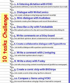 Homework assignments using WEB 2.0 (a project w/ EFL sts)