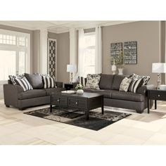 These are our new couches!! Love!!Beatty Sofa   HOM Furniture