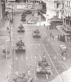 April ~ Dictatorship tanks on the streets of Athens (Panepistimiou ave.),/Not just a distant memory,one of the darkest times in modern Greek History.A forever reminder of the importance of DEMOCRACY. Athens History, Greece History, Attica Athens, Athens Greece, Greece Photography, Vintage Photography, Old Photos, Vintage Photos, Greece Pictures