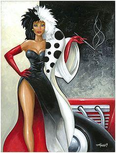 Cruella De Vil by Mike Kungl