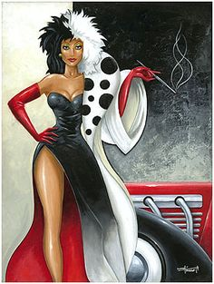Cruella De Vil by Mike Kungl
