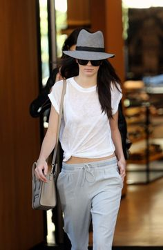 Kendall Jenner Makes Comfy Pants Look Chic