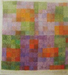 Johannes Itten 1964 Sacksofsky - art KARLSRUHE 2010 - Onlinekatalog Bauhaus Colors, Josef Albers, Color Studies, Color Theory, Op Art, Textures Patterns, Abstract Art, Canvas Art, Drawings