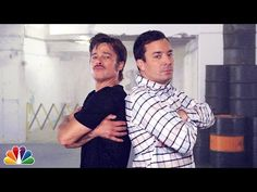 Brad Pitt And Jimmy Fallon Have A Conversation Through Breakdancing