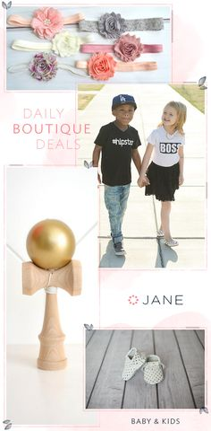 Style is not just for mommies anymore. Keep those littles on trend with the latest fashion finds for kids from Jane.com. Outfits so cute you'll be wishing they came in your size.
