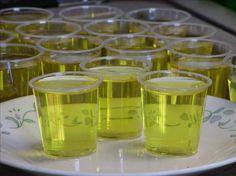 Island Pineapple Coconut Jello Shots Recipe!