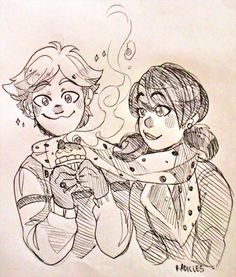 A doodle for #ladybug_60mins still trying to figure out how to draw them #radicles