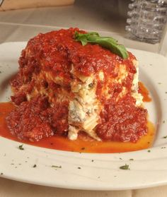 It's Italian food, like a mama would make @DeLorenzo's Italian Restaurant
