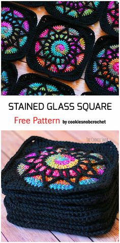 Granny Square Crochet Pattern, Crochet Blocks, Afghan Crochet Patterns, Crochet Squares, Knit Or Crochet, Crochet Granny, Crochet Motif, Crochet Designs, Crochet Crafts