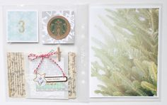 i shared my first pages from my december album on the chic tags blog this weekend, but i wanted to post them here so i could keep them all ...