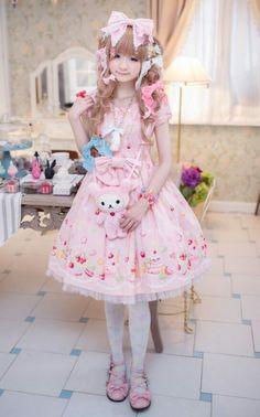 Sweet Lolita.   Harajuku&kawaii style   Pinterest