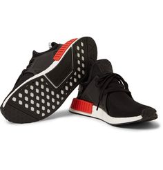 new arrival 3bd5b a9229 Made from black Primeknit and kitted with red and blue bumpers, a  hrefhttpwww.mrporter.commensDesignersAdidasOriginalsadidas  Originalsa ...