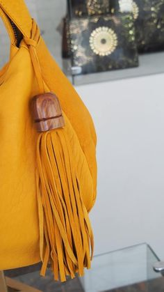 #Tassel Love... #JLang #casatorreón #style #wood #leather #handmade #CostaRica