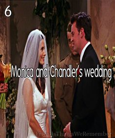Friends #6 - Monica and Chandler's wedding