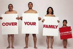 Ad Campaign Bares All to Cover Your Family | Raman Media Network