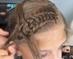 Knotted headband makrame-braids   Tutorial: http://www.youtube.com/watch?feature=endscreen=8UHgEgyzd9U=1