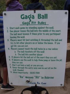 Pin Gaga Ball Game Rules On Pinterest
