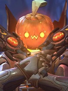 Pumpkin Reaper, Funny Halloween, Overwatch, Pumpkin Carving, Characters, Games, Cute, To Draw, Figurines