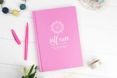 The Self Care Playbook is guide / planner to help you practice self love. The book is full of affirmations, prompts and journalling topics. Love Yourself First, Finding Yourself, Make It Yourself, Asking The Right Questions, Different Light, Negative Thoughts, Motivation, Self Help, Self Care